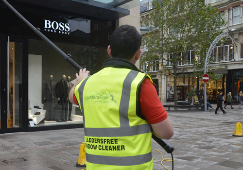 Shop Window Cleaning